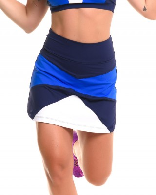 Short Saia Play Royal Sandy Fitness