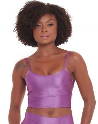 Top Lumy Violeta SND Sandy Fitness