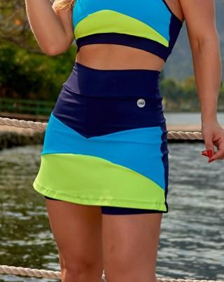 Short Saia Summer Blue Van Andretta SND