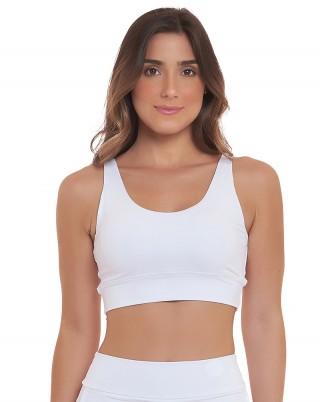 Top Slim Branco SND Sandy Fitness