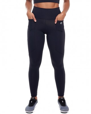 Calça Legging Celebrity Nero SND Sandy Fitness