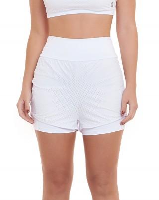 Short Light Branco SND Sandy Fitnes