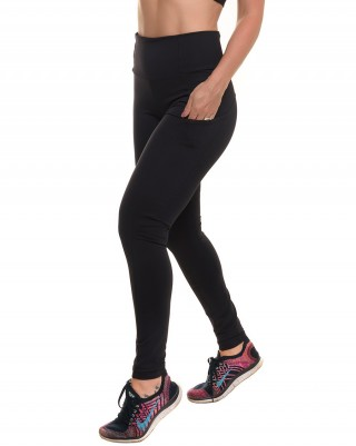 Legging Train Black Sandy Fitness