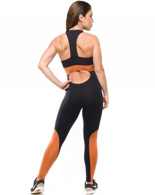 Macacão Absolut Bronze Sandy Fitness
