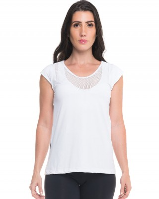 Blusa Flat Clean Sandy Fitness