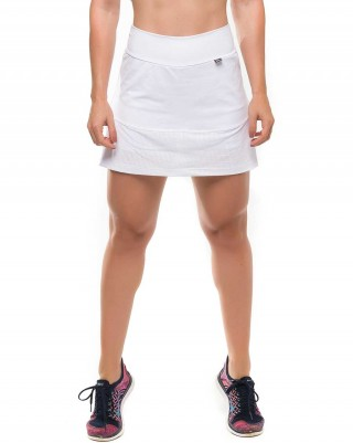 Short Saia Energize White Sandy Fitness