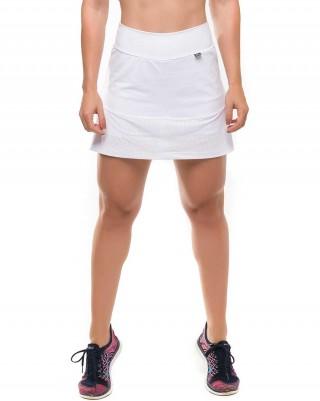 Short Saia Energize White Sandy Fitness