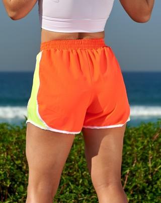 Short Cardio Orange Van Andretta SND