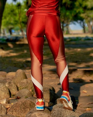 Legging Reset Red Van Andretta SND
