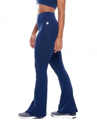 Calça Mini Flare Bluish SND Sandy Fitness