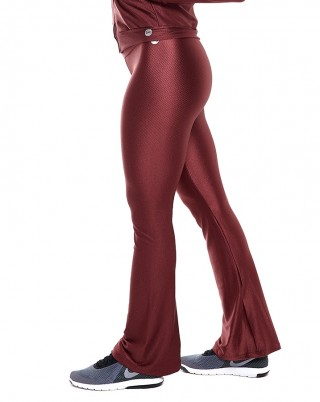 Calça Flare Stone Ruby SND Sandy Fitness