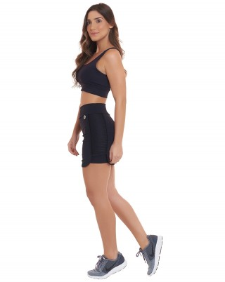 Look Slim Square Preto SND Sandy Fitness