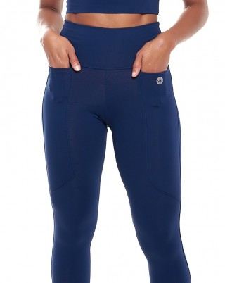 Calça Legging Celebrity Bluish SND Sandy Fitness