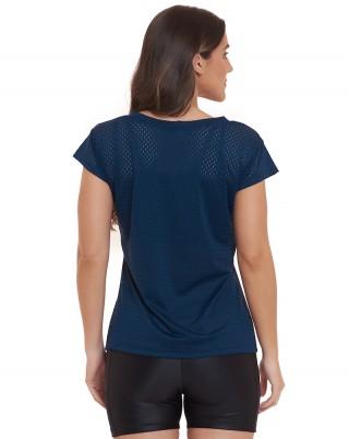 Blusa Sense Marinho SND Sandy Fitness